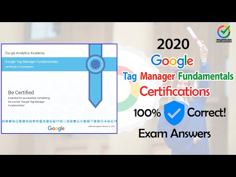 Google Tag Manager Fundamentals   Exam Guidelines 2020 ...
