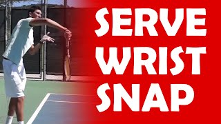 Wrist Snap | SERVE MECHANICS