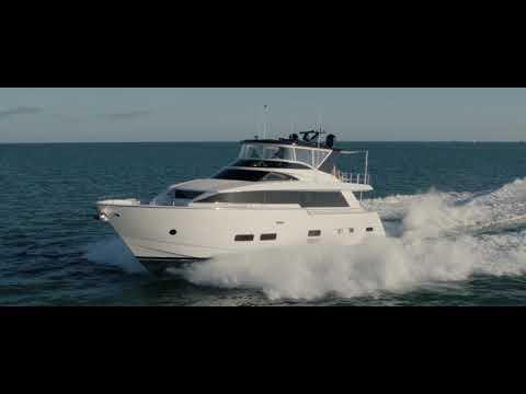 Hatteras M 75 Panacera video