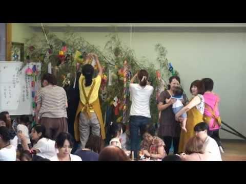 帯山校区 「子育ての集い・七夕」 2013-7-6