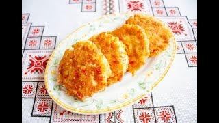 Котлети з крабових паличок та сиру❤️Котлеты из крабовых палочек и сыра