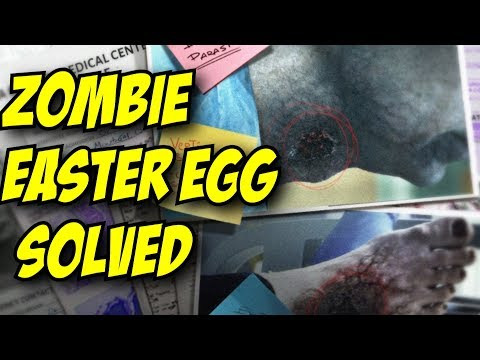 Rainbow Six Siege ZOMBIE EASTER EGG SOLVED! Story Lore Mission Outbreak Operation Chimera