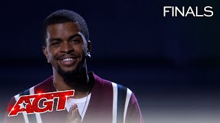 Brandon Leake Delivers Emotional Spoken Word to His Daughter - America's Got Talent 2020 thumbnail