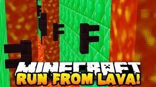 Minecraft RACE AGAINST LAVA PARKOUR! (ESCAPE DEATH!) #2 W/PrestonPlayz & The Pack!