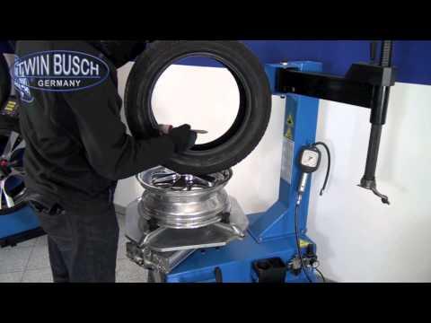 Reifenmontagemaschine - Schwingarmdesign von TwinBusch ® Germany - TW X-01