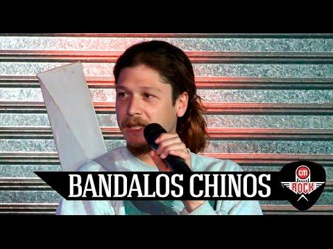 Bandalos Chinos video Presentan Isla - Entrevista CM Rock 2016
