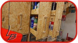 (1/3)  Platzsparende  Aufbewahrung | Apothekerschrank selbst bauen!