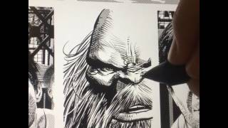 Mike Deodato Drawing Maestro