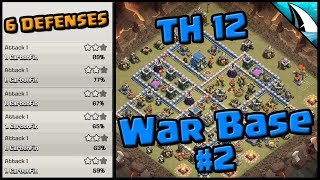 *Post Update* Th12 War Base #2 | Clash of Clans