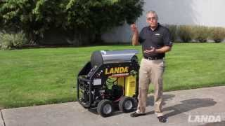 Landa MHC Pressure Washer - Landa L-Series Pump (video #2 of 5)