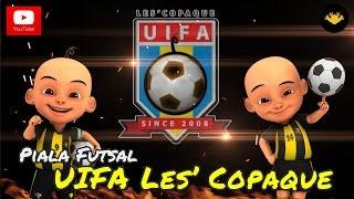 Inilah suasana Kejuaraan Piala Futsal UIFA Les' Copaque Production Sdn Bhd