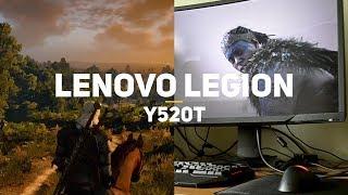 Как работают игры на Lenovo Legion Y520T за 50к рублей?