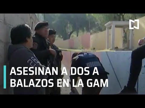 Asesinan a dos hombres a balazos en alcaldía GAM - Las Noticias