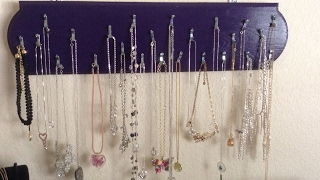 DIY Necklace Display