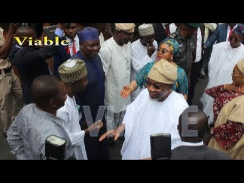 Just In : Rauf Aregbesola Resumes Work as Minister of Interior