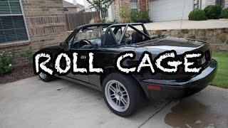Project Miata Gets a Roll Cage! by Evan Shanks