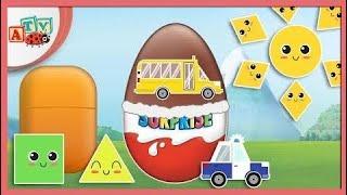 Мультфильмы Для Детей - Паста Коллажей Яйца С Сюрпризами (Ep 1-2)