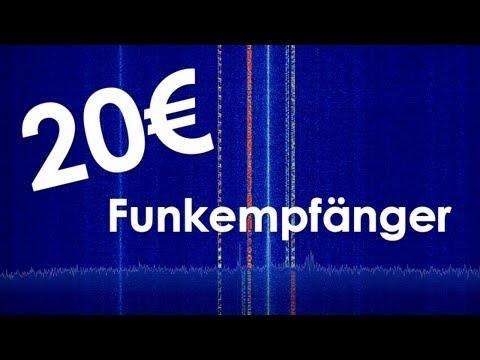 20 € Funkempfänger - SDR mit dem DVB-T Stick (RTL2832U, RTL SDR)