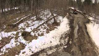 preview picture of video 'Napanee ATV Park March 24 2013'
