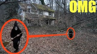 you won't believe what my drone caught on camera inside Blair Witch forest (We saw her)