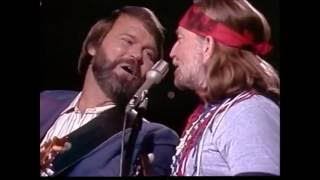 On The Road Again - Glen Campbell and Willie Nelson (1982) - HD [Original]
