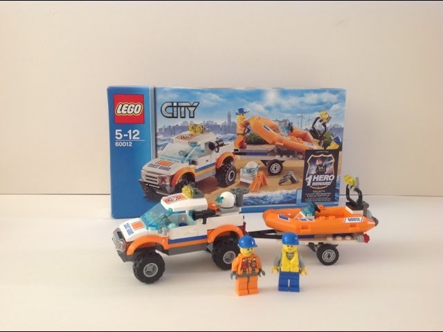 Lego city (60012) 4x4 and diving boat review