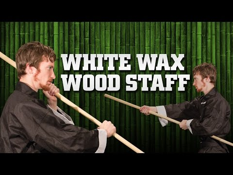 6' Wax Wood Self Defense / Training Staff