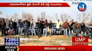 Exclusive  Megastar Chiranjeevi Fans Creates Sensation In USA  No1 News