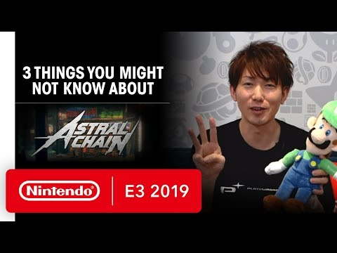 Three Things You Might Not Know About ASTRAL CHAIN - E3 2019 thumbnail