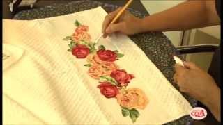 Aprenda a fazer uma linda toalha com a Decore Fix