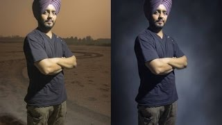 Adobe Photoshop CS6 Tutorials : Remove Or Change Background Of Portrait / Image