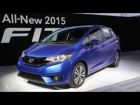 2015 Honda Fit - 2014 Detroit Auto Show