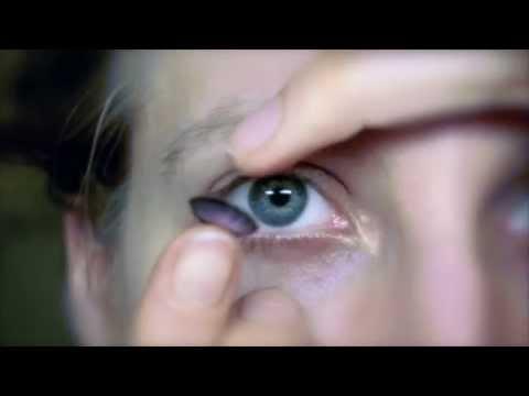 Circle lenses Kontaktlinsen handling | einsetzen/absetzen | putting on and off | Deutsch/Englisch