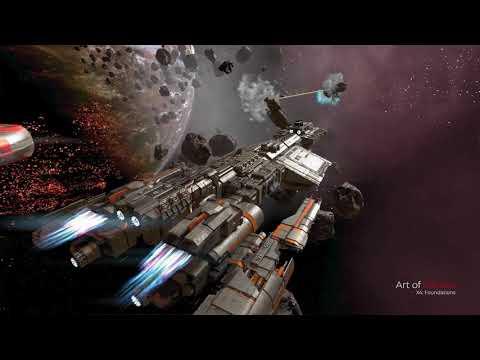 X4: Foundations 2.0 - Bayamon 100 Carrier - Battleship mod
