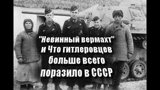 """""""Невинный вермахт"""" и Что гитлеровцев больше всего поразило в СССР"""