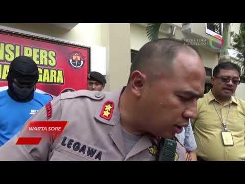 ANCAM KORBAN DENGAN SAJAM DAN MEMBAWA KABUR MOTOR , 5 PELAKU CURAT DI BEKUK POLISI