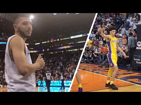 Lonzo Ball BEST GAME EVER! I WAS PISSED! *Live Reaction*
