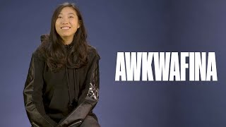 Awkwafina on meeting the cast of Ocean's 8 and living in both NYC and China - Video Youtube