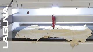 CNC Machine Laguna Laser EC Cutting Raw Hide