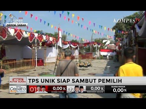 TPS Unik di Berbagai Wilayah Siap Meriahkan Pemilu 2019