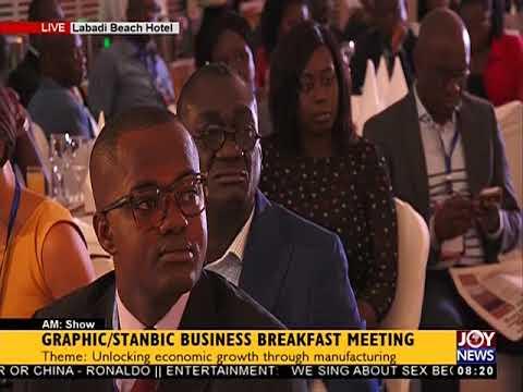 Graphic/Stanbic Business Breakfast Meeting - AM Show on JoyNews (31-7-18)