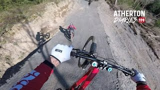Check out what Gee Atherton Dan Atherton Rachel Atherton and the rest