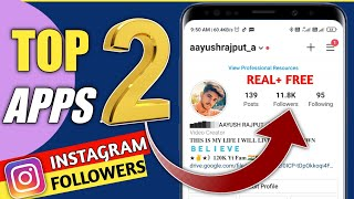 Top 2 Apps to Get Real Instagram Followers And Likes   Techiyush
