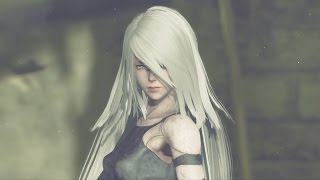 Nier Automata: Boss Fight #6 A2 Android (1080p 60fps)