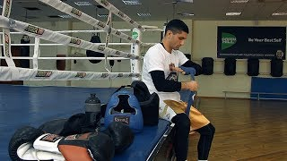 Артём Далакян. Тренировка перед боем за звание чемпиона мира по версии WBA