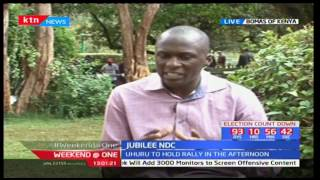 President Uhuru Kenyatta expected to grace Jubilee Party rally in Ngong later today