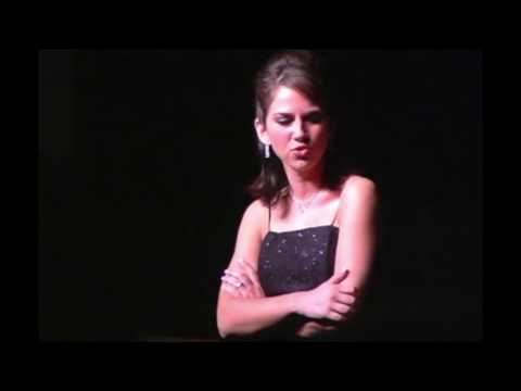 """""""The Wizard And I"""" from the musical """"Wicked"""", Senior Recital at San Diego Christian College"""