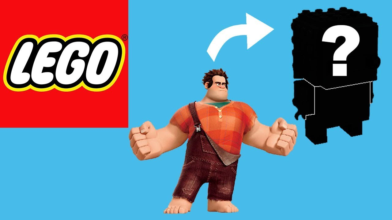 How to Build Lego Wreck-It Ralph | Brickheadz