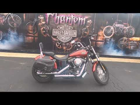 2013 Harley-Davidson Street Bob Special Edition FXDB