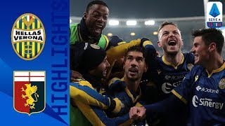 Hellas Verona 2-1 Genoa | Verona Beat Genoa to Leap out of the Relegation Zone | Serie A TIM